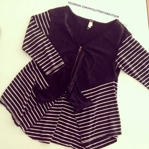 Free People Zip Cardigan