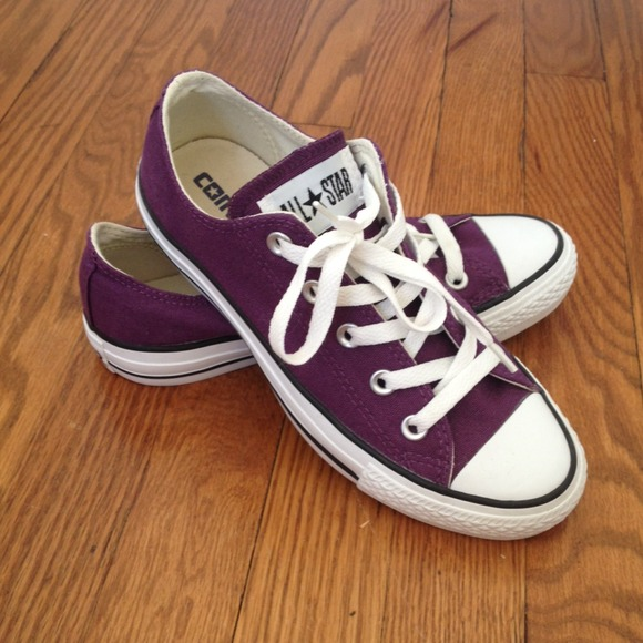 Plum Purple Converse | Poshmark