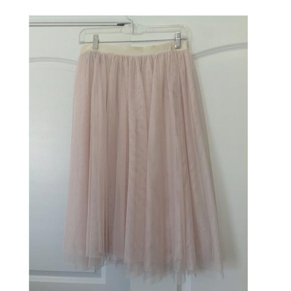 Tulle Midi Skirt H&m