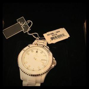 White toy watch
