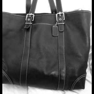 Black Coach Work Bag
