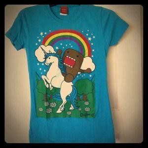 Tops - Domo unicorn tshirt