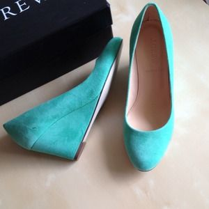 Jcrew Martina suede wedges