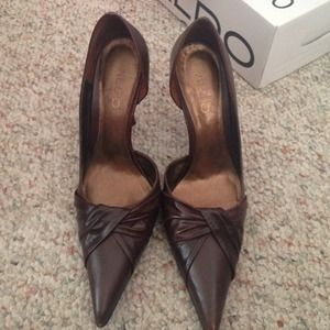 ALDO Shoes - ⬇️⬇️ Brown pumps