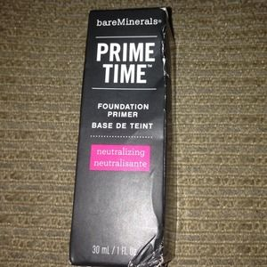 Accessories - Bare minerals prime time foundation primer
