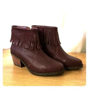 "#Shoemint ""Lucy"" Leather #Booties"