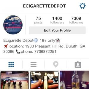 Please follow our Instagram page ecigarettedepot !