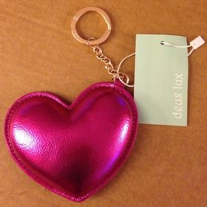 Deux Lux Accessories - Heart keyring