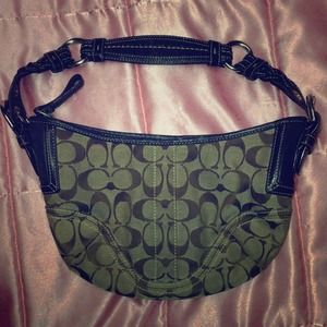 SALE!!! Coach jacquard bag