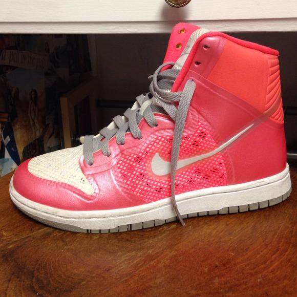 Nike Shoes | Neon Orange Hyperfuse High