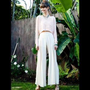 Gorgeous high waist flair pants