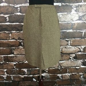 Kate Hill Dresses & Skirts - Kate Hill Size 6 Brown Tweed Skirt