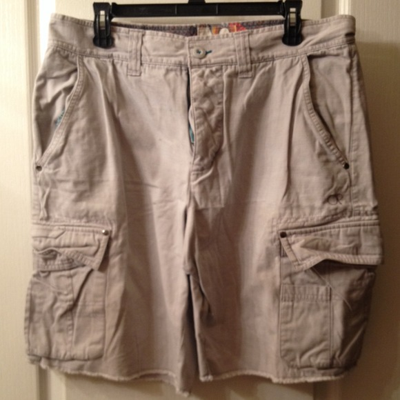 85 off op other mens op khaki cargo shorts from