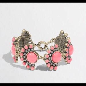 J. Crew Jewelry - J. Crew Flower Fan Bracelet