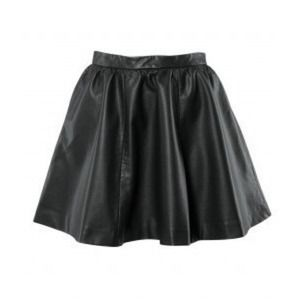 H&M faux leather skirt 4