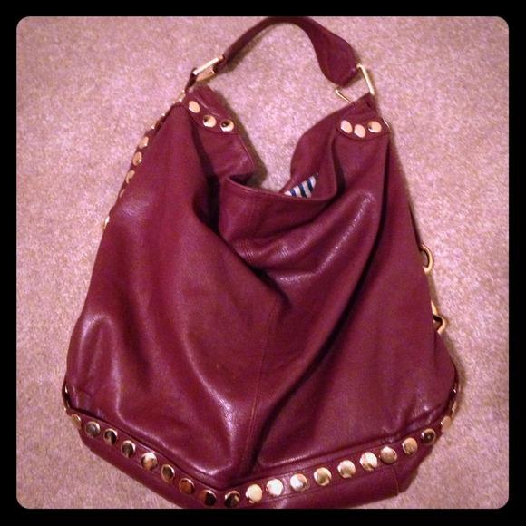 641efc0e55 Rebecca Minkoff studded Nikki hobo. M 531dde941b865a57ac19c337. Other Bags  ...