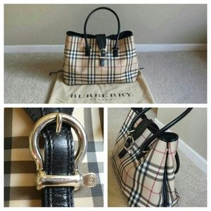 Large burberry handbag
