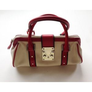 BCBG Handbags - BCBG Retro Leather Hand Bag