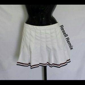 White Slazenger Tennis Skirt
