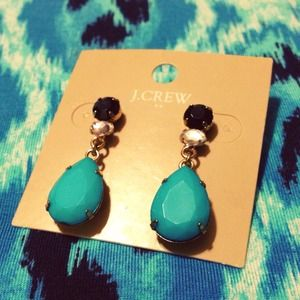 J. Crew Jewelry - NWT J. Crew Teardrop Earrings