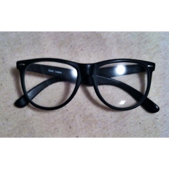 be2afc9185 Forever 21 Accessories - Large Black Framed Hipster Glasses (Reserved)