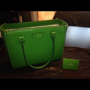 Kate Spade Wellesley Quinn Emerald Green