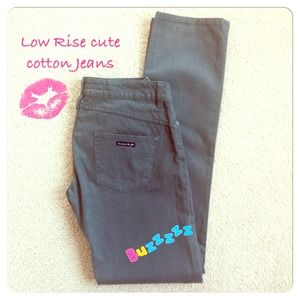 FINAL SALE🇮🇹Straight Leg Cotton Jeans
