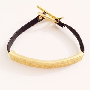 Gorjana Jewelry - Gold Bar Bracelet