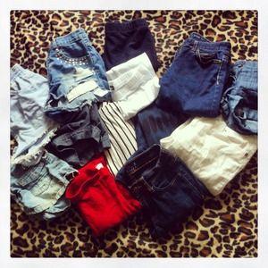 Pants - Jeans, leggings & shorts!