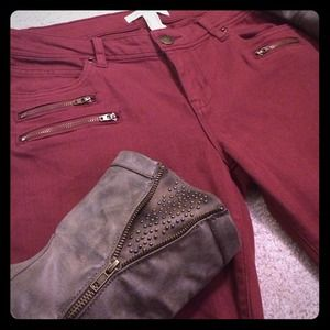 😍Cranberry Skinny Pants😍