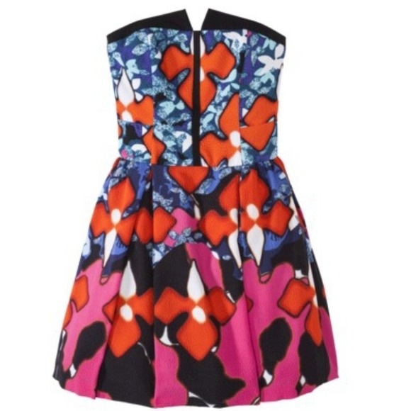 Peter Pilotto for Target Dresses - Peter Pilotto Red Iris Signature Dress