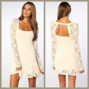 FLASH SALE Free People Lace Flirt For You Dress