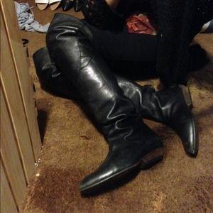 Lucky Brand Thigh High Boots