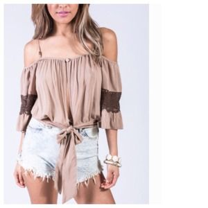 Tops - Off The Shoulder Bohemian Gypsy Tops + Lace