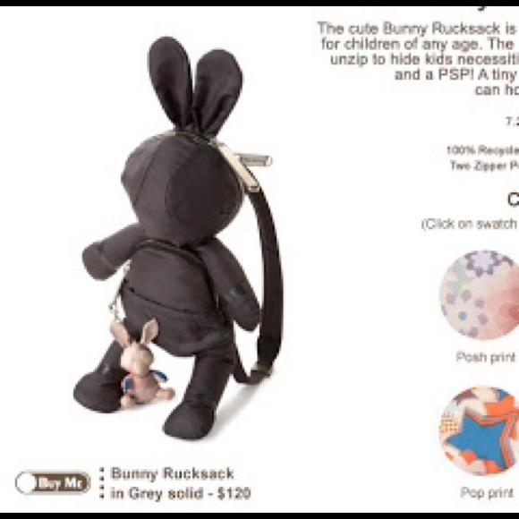 75b4759cda7 Stella McCartney Bags   Lesportsac Bunny Rucksac   Poshmark