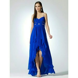 Blue High Low Dress