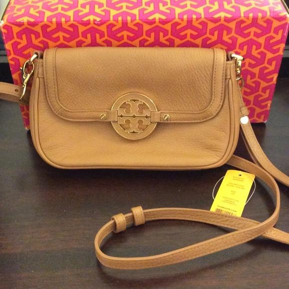 4bd58514b834 Tory Burch Amanda Crossbody Bag (Royal Tan). M 531f3254018efa13e2216872