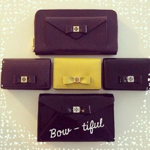 Tory Burch Bow Collection Card Cases