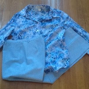 Pants - Coldwater Creek top /FREE pants Size 6A