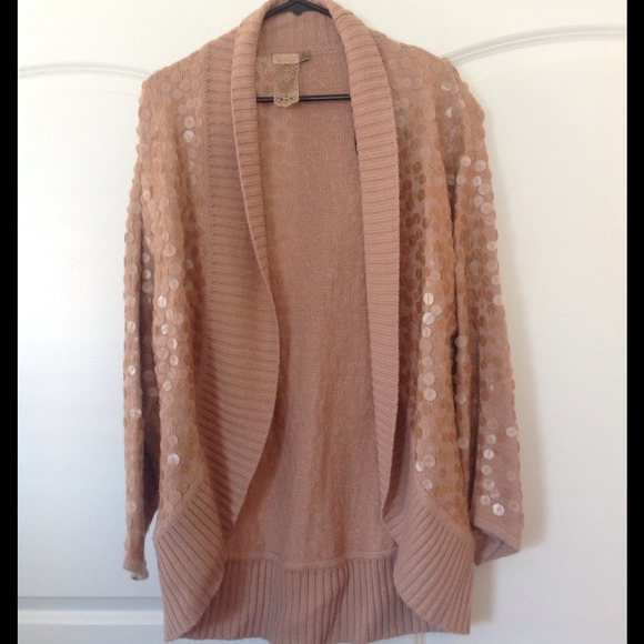 Forever 21 - NWOT Oversized sequin cardigan from Patricia's closet ...