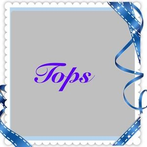 Tops - Tops and shirts listed below