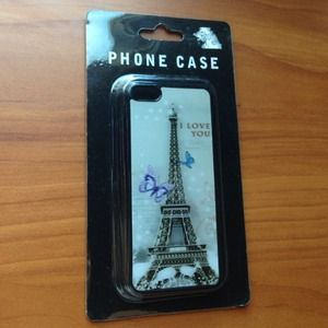 3D Eiffel Tower iPhone 5C case