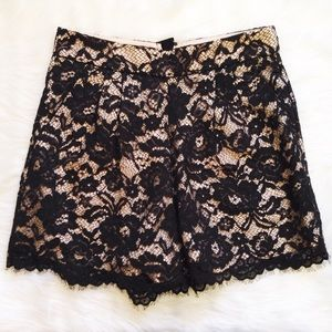 Anthropologie Other - Anthropologie Tibi lace shorts