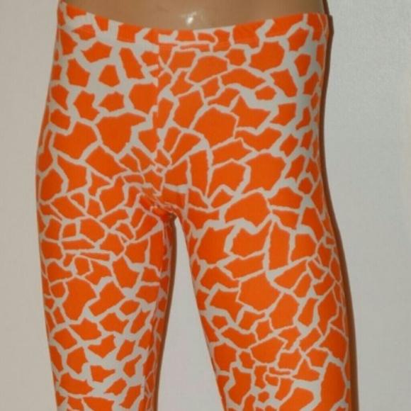 852e784c10d2e Pants | Orange Giraffe Yogarunning | Poshmark