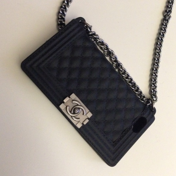 34% off Accessories - Chanel iPhone Case for 5/5s Le Boy ...