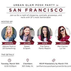 You're Invited: LIVE SF Posh Party!