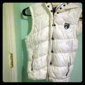 REDUCED White vest! Never worn perfect condition