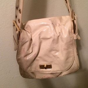 Authentic marc Jacobs bag.  Patent ivory leather