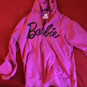 Sweaters - Pink Barbie hoodie