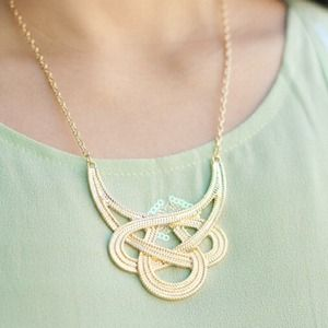 Woven Knots Necklace